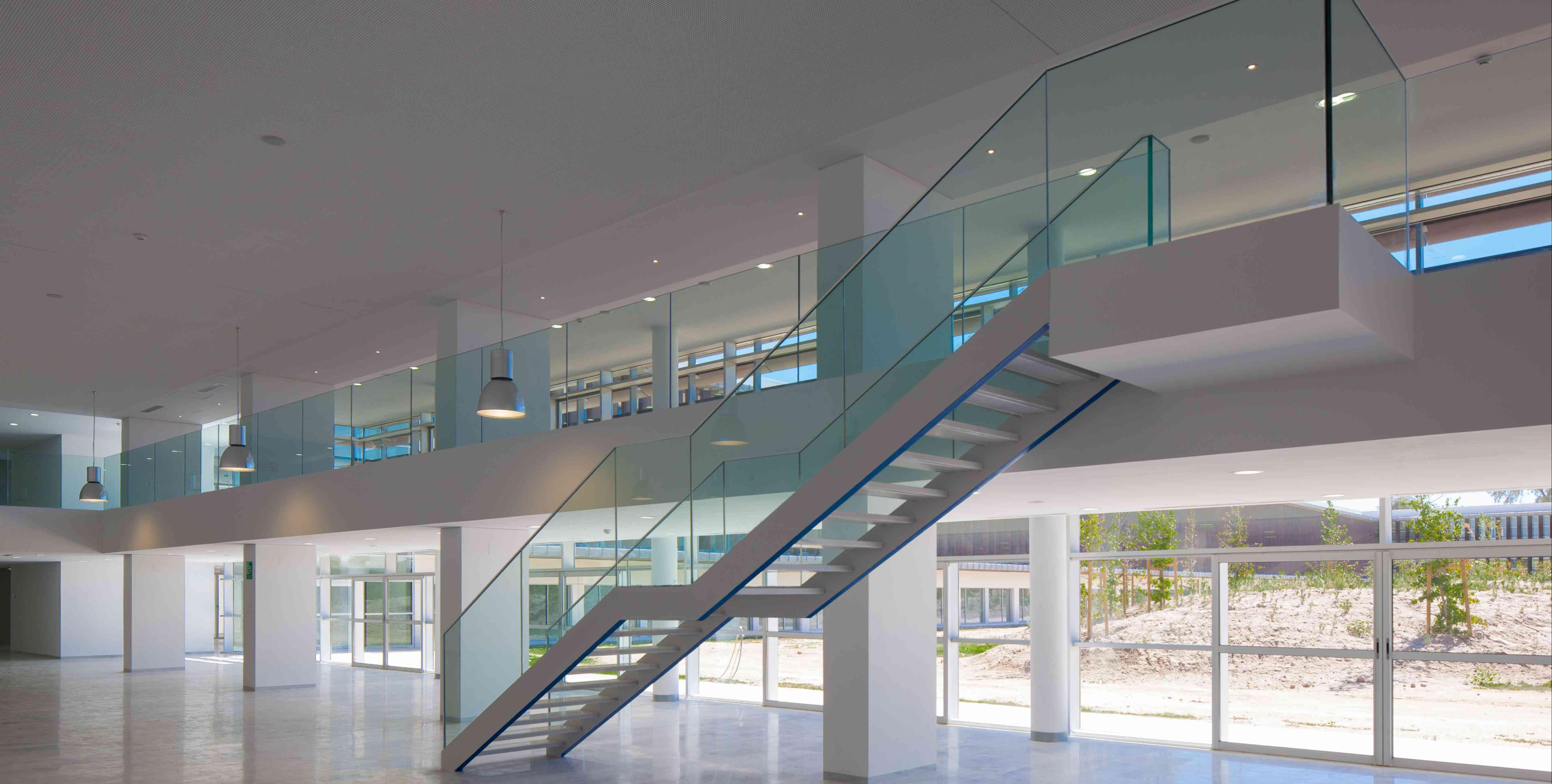 Barandillas De Vidrio Requerimientos Mec Nicos A Tener En Cuenta ~ Barandillas De Cristal Para Escaleras Interiores