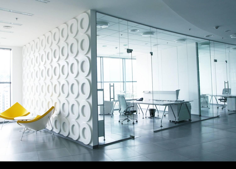 Separadores oficina archives cristal y vidrio - Mamparas separadoras de ambientes ...