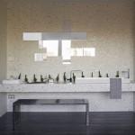 Lavabo con espejo de diseño