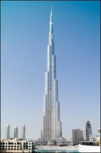 Vidrio control solar: SunGuard, Burj Khalifa Dubai 828m